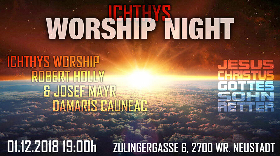 ICHTHYS WORSHIP NIGHT 01.12.2018